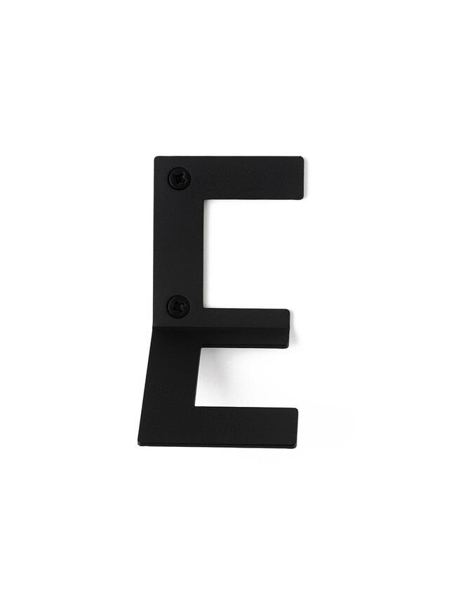 LETTER HOOK E フック 壁掛け サイン 英文字 アルファベット