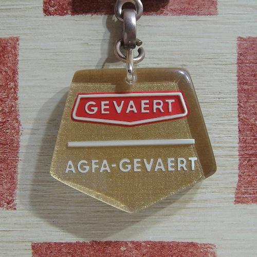 ドイツ&ベルギー GEVAERT[ゲバルト]写真用品メーカー ブルボンキーホルダー