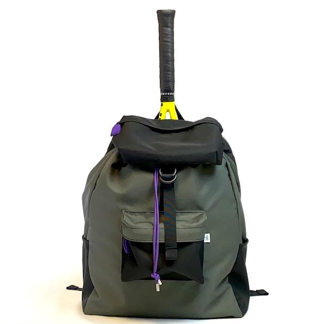 Oxford/Racket ruck/Medium/Trail/Black/Gray