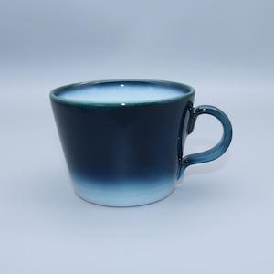 砥部焼 ヨシュア工房 ス−プカップ ヨシュアブル−