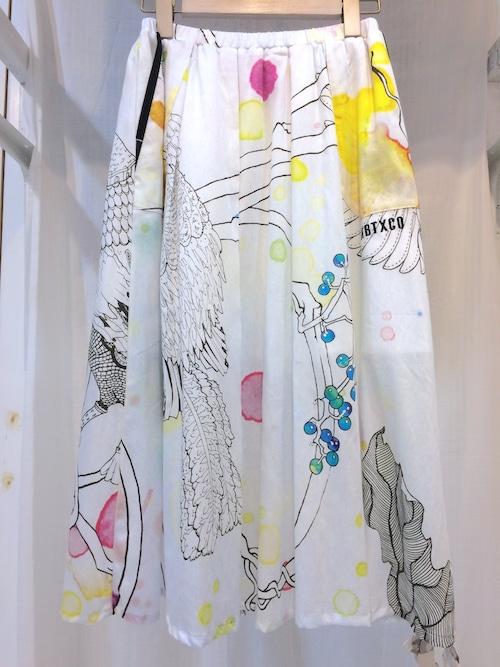 RBT 水彩SONGスカート
