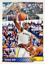 NBAカード 92-93UPPERDECK Tyrone Hill #305 WARRIRS
