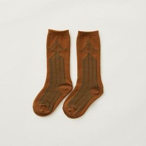 eLfinFolk  Abies high socks (camel) M/L/LL elf-212A35 メール便可