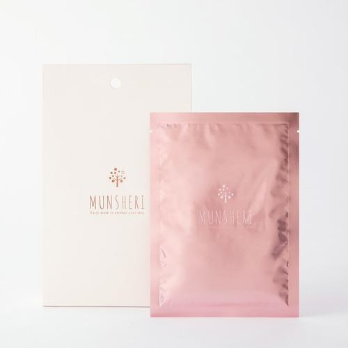 ミュンシェリー3箱セット(15枚/3箱、30ml/枚) フェイシャルモイストパック