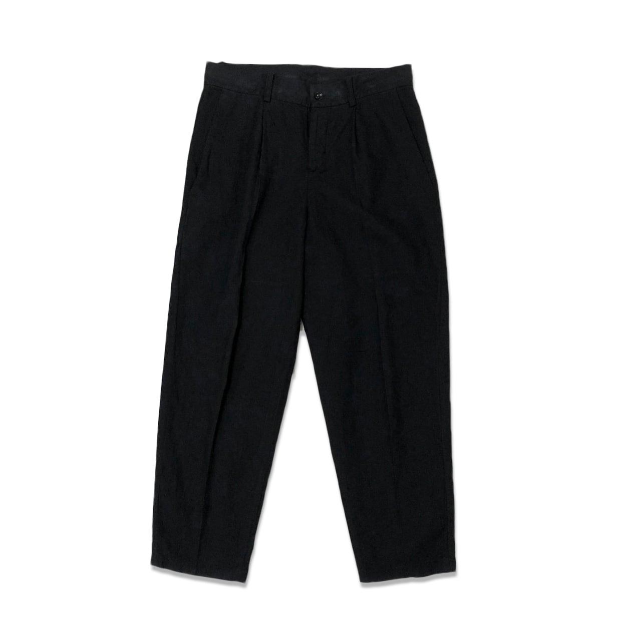 ORGANIC COTTON TWILL TAPERED PANTS 【受注生産】
