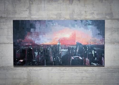 New York, city scape composition #12 (額入り特別作品)