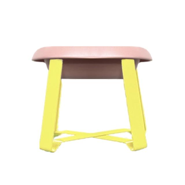 【予約】Pecolo Food Stand Sピンクフードボウルセット +犬の生活限定色カナリヤイエロー
