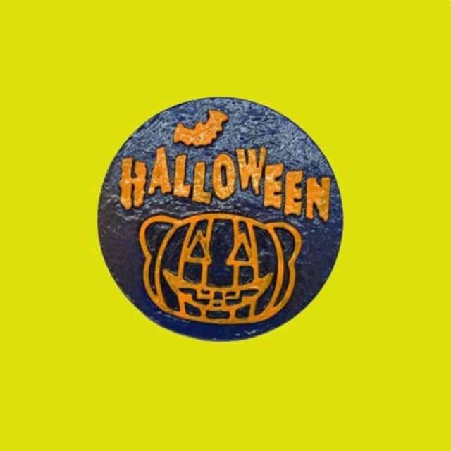 僕たちフェレット Halloween マグネットステッカー ⑨キャスト製(直径80mm)無料配送