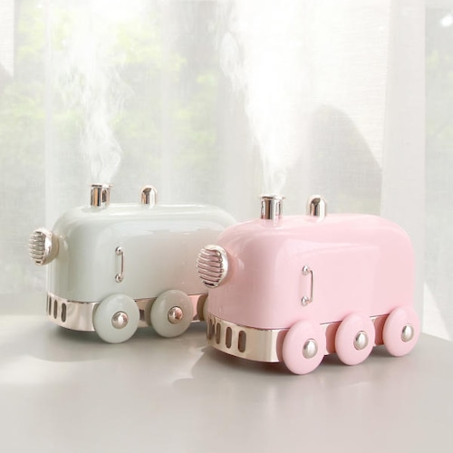 mood light train humidifier 2colors / ルームライト 汽車 加湿器 韓国雑貨