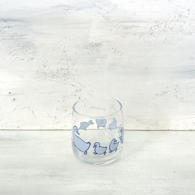 【R-637】東洋ガラス アヒル親子グラス