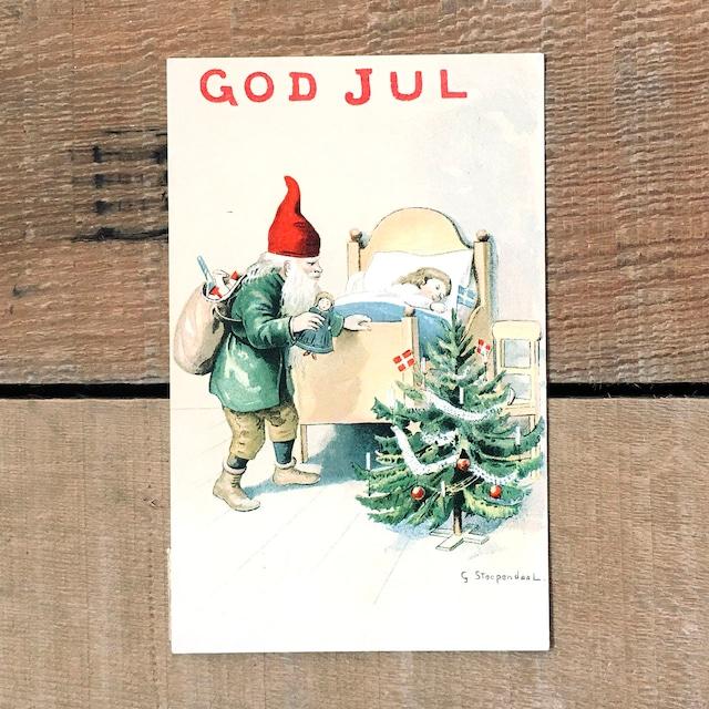 クリスマスカード「G.Stoopendal(G・ストゥーペンダール)」《200221-02》