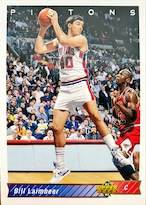 NBAカード 92-93UPPERDECK Bill Laimbeer #223 PISTONS