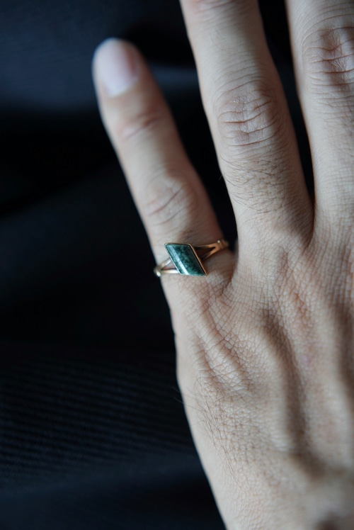 <SOLD OUT>Euro Vintage - Mid-century 14k Turquoise Ring