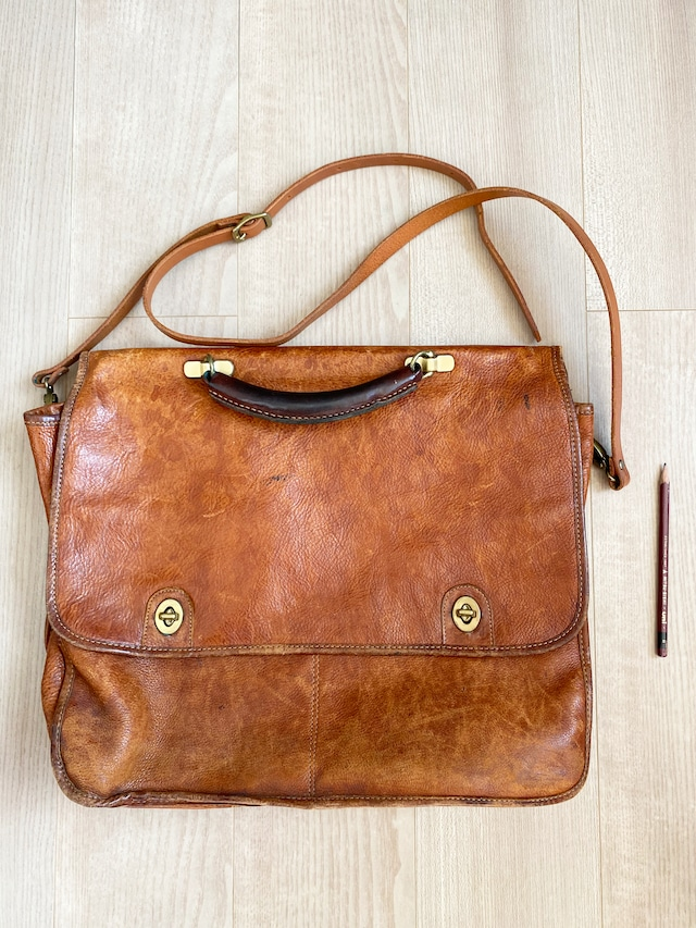 used leather bag No.007「静寂イグザミネーション」