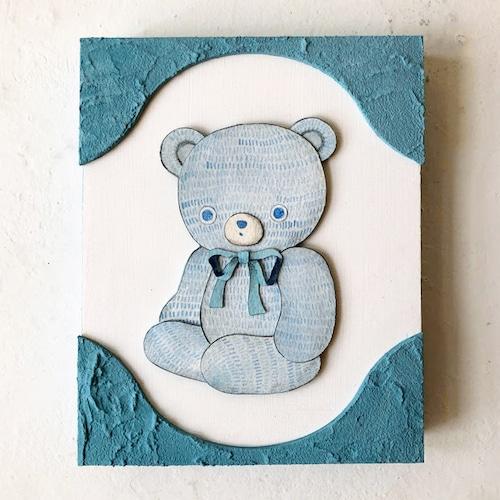 林ホノカ「light blue-bear」