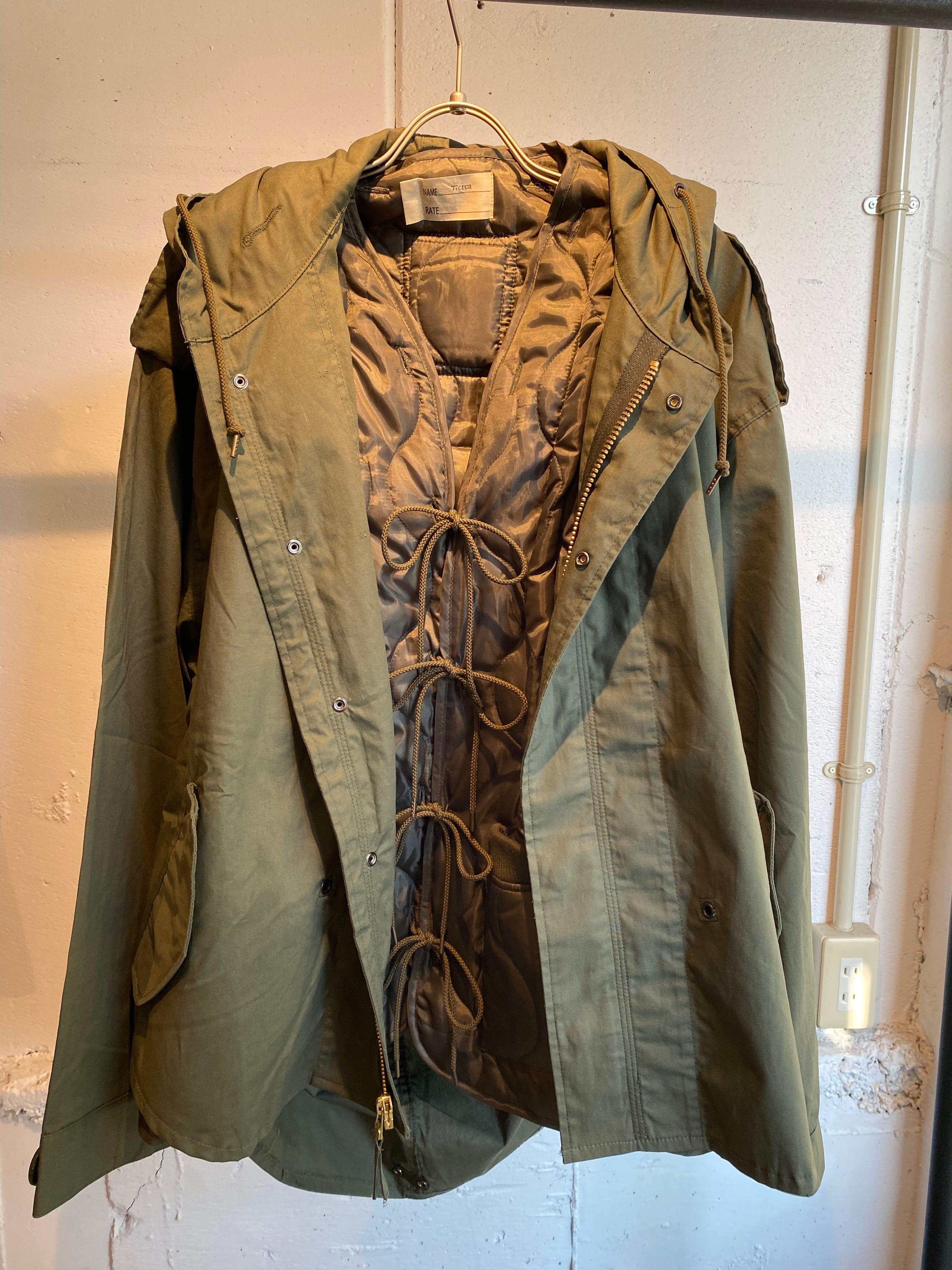77circa   circa make rayered military coat