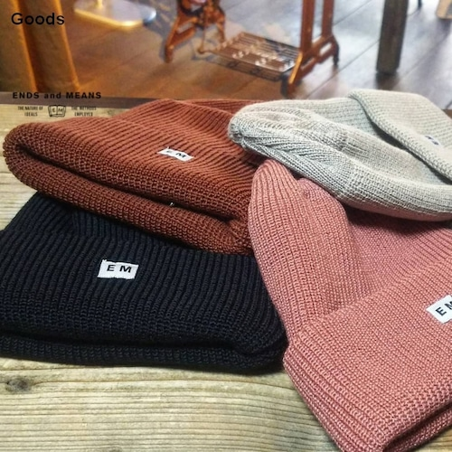 ENDS and MEANS ワッチキャップ Watch Cap EM182H029 5カラー