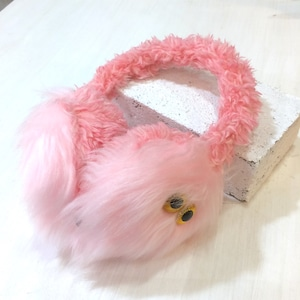 MAMEDENQ イヤーマフ ピンク