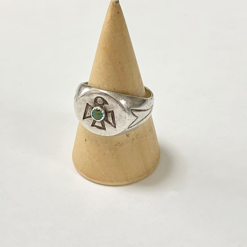 Vintage Bell Trading Post Navajo Thunderbird Ring