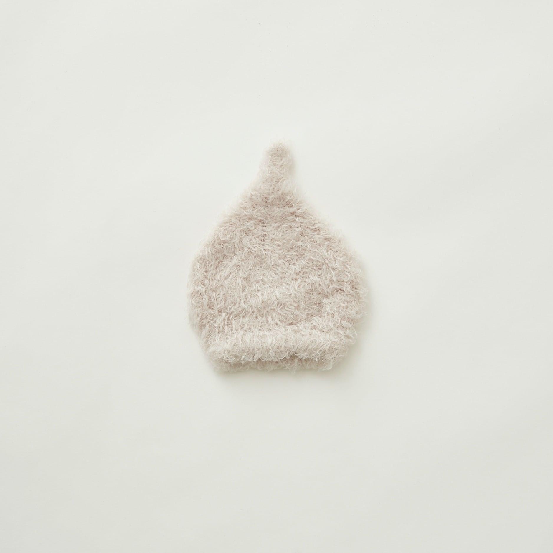 《eLfinFolk 2021AW》pygmy cap / smoke white