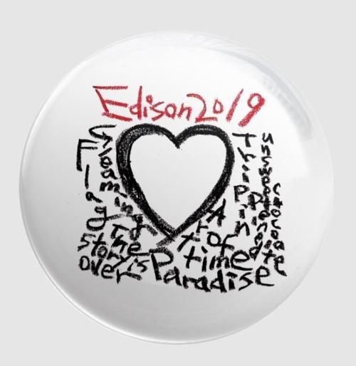 """Edison"" badge"