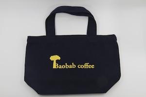 Baobabcoffeeキャンバストート ネイビー