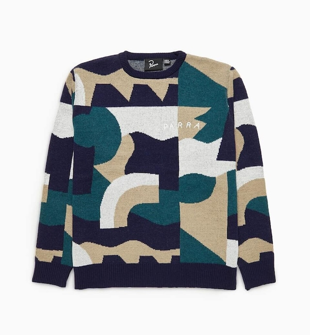 BY PARRA CITY PLANNING PREMIUM KNITTED PULLOVER MULTI