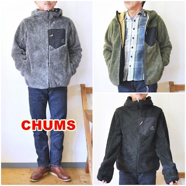 CHUMS チャムス ボンディングフリースジャケット ch04-1279  メンズジャケット ジップパーカー