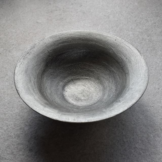 小野澤弘一 「陶漆錫彩リムボウル(M)」