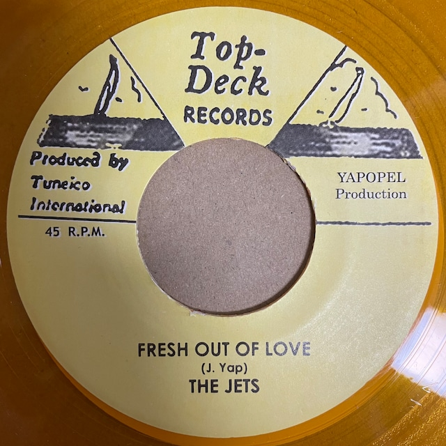 The Jets - Fresh Out Of Love【7-20777】