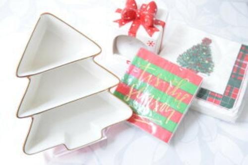 ⭐小物入れにしてもかわいい♡ ⭐クリスマス【THRESHOLD】ツリー お皿 食器 小物置き 食器 インテリア 海外 北欧 雑貨 12月