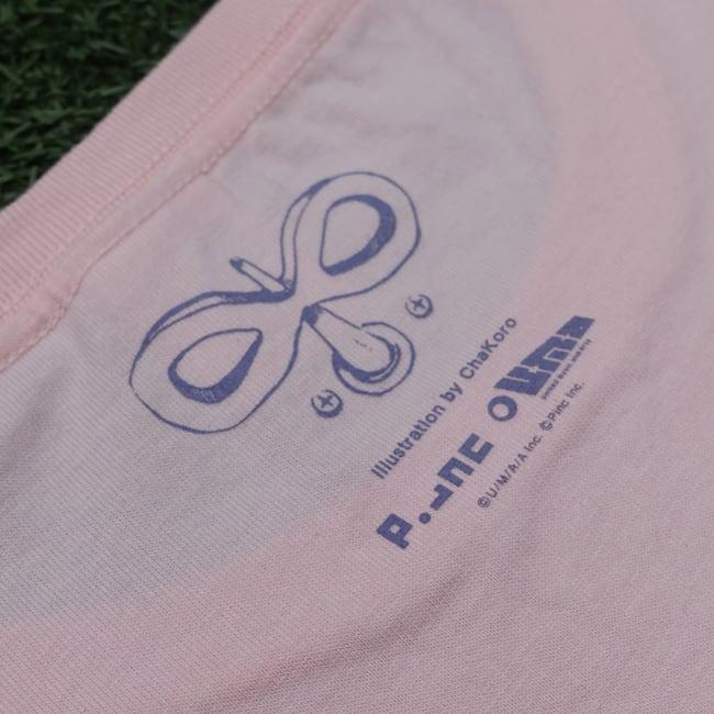 sasakure.UK『トンデモ未来空奏図』Tシャツ ライトピンク - 画像3