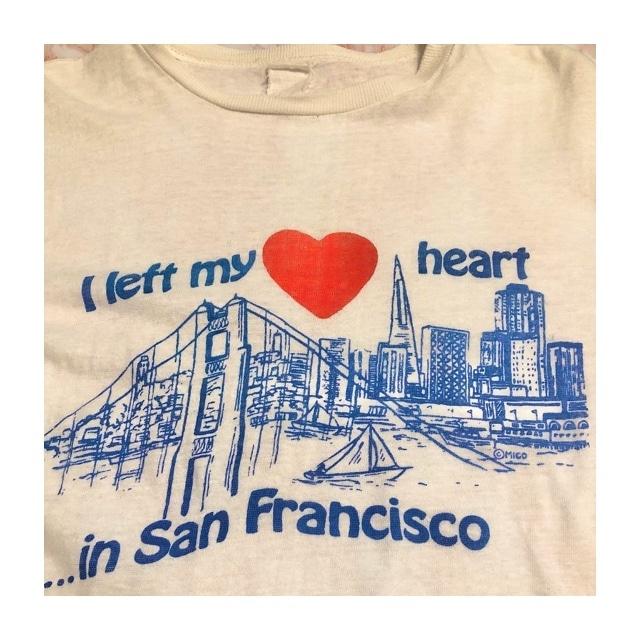 70's I left my heart in San Francisco