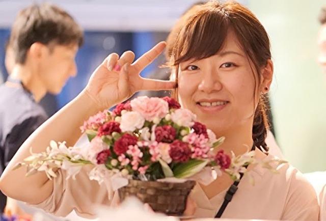 日本初!介護福祉士×出張フラワーアレンジメント複業家