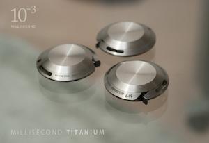 【入荷しました!】MiLLiSECOND チタニウム メタルメジャー(シリアル番号入り)