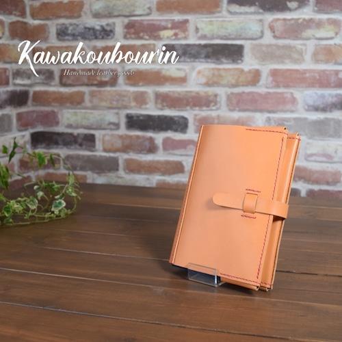 【オーダーメイド制作例】御朱印帳カバー(ブックカバー)  (KA112c2)