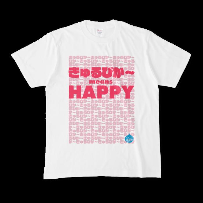 きゅるぴか〜 Tシャツ(ピンク)