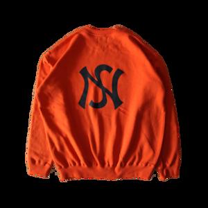 signature sweater in orange