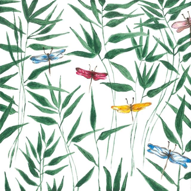 【Paperproducts Design】バラ売り2枚 ランチサイズ ペーパーナプキン Fantasia ホワイト