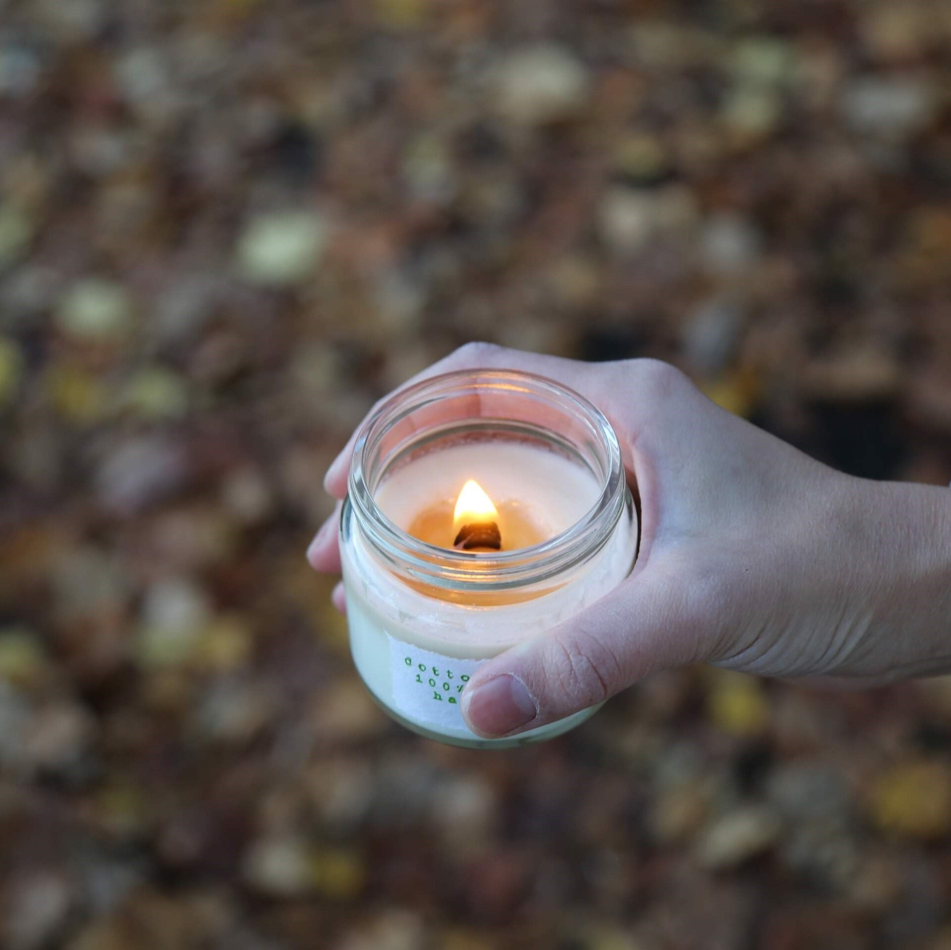 bzlemonビージーレモンの香り(M)soywax100%の天然木芯キャンドル【ソイワックスキャンドル ソイキャンドル アロマキャンドル】