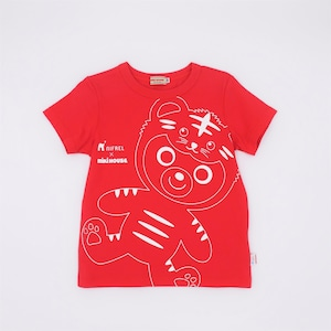 MIKI HOUSE × NIFREL Tシャツ(赤)