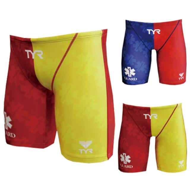 GUARD(ガード)×TYR(ティア) メンズ水着 ツートーンデザイン メンズ ジャマー ハーフパンツ jgard-17s 競泳 ブランド