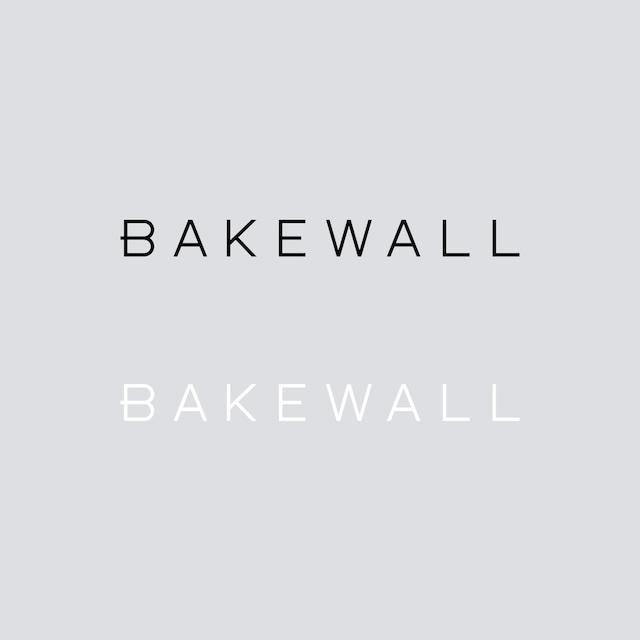 BAKEWALL LOGO CUTTING STICKER 【 S 】