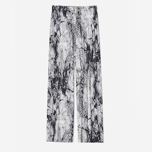 Ink painting relax pants(インクペインティングリラックスパンツ)b-384