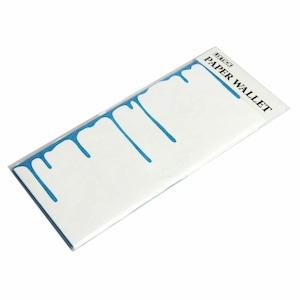 LIXTICK PAPER WALLET – DRIP BLUE / LIXTICK