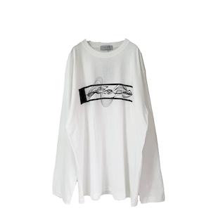 Print-L/S-Tee (white/gp2)