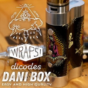 WRAPS! for dicodes Dani Box