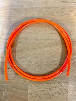 ウレタンオレンジベルト φ4x1m 【8mm映写機用代用ベルト】