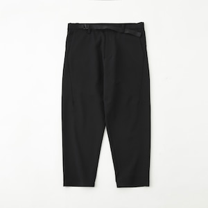 SOLOTEX FLANNEL DARTED PANTS - BLACK