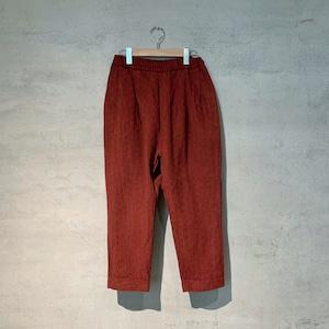 【COSMIC WONDER】Flower of  life sashiko folk pants/14CW12027-2